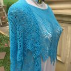 Rainshine Shawl, Moon Night Lotus Yarns, IDR2000K