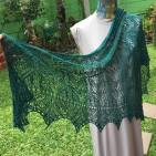 Damask Shawl, Mulberry Silk, 200 grs, IDR2.5K