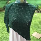 Green River Triangle Shawl, Cashmillon 180 grs, IDR500K
