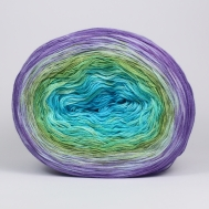 SOLD 04-SWR03 turquoise green lilac 200 grams 760m 3mm 110K