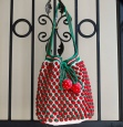 Strawberry Crochet Tote USD5