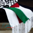 Palestine & Indonesia Crochet Scarf Kit (99K)