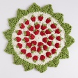 Strawberry Crochet Pot Holder USD5